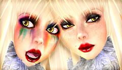 MIASNOW RAINBOW GOTH GIRLS photo by MiaSnow