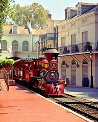 daily disney - new orleans train station photo by Express Monorail