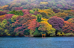 Hakone, Ashi Lake photo by Ricardo Bevilaqua