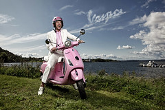 Vespa photo by Glenn Meling