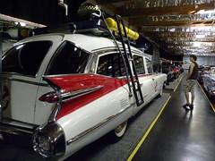 1959 Cadillac Ambulance ECTO-1 GHOSTBUSTERS Car back view photo by Treasure Tia