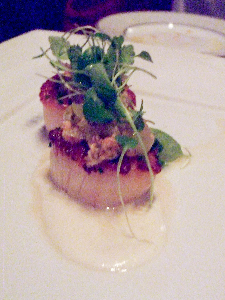 Seared Scallops, Alto