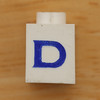 Vintage LEGO brick letter D
