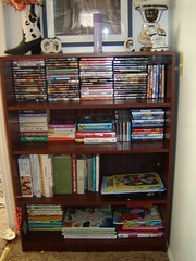 books, cd's, DVD's and puzzles