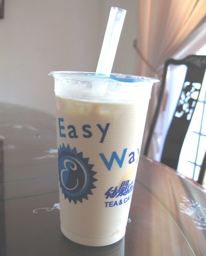 Pudding milk tea