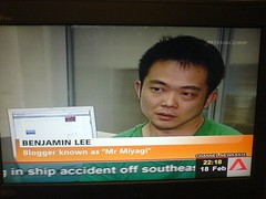 Mr Miyagi on Channel Newsasia