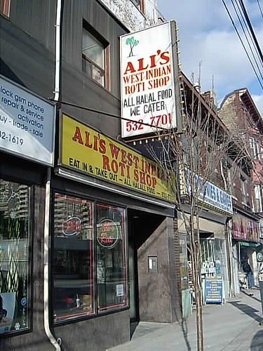 Ali's West Indian Roti Shop