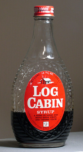 Bicentennial log cabin syrup bottle flickr photo sharing