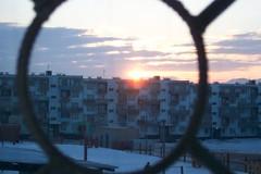 Sunrise in Darkhan