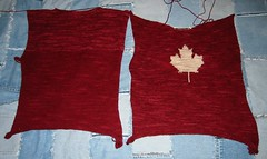 Canada Sweater Progress