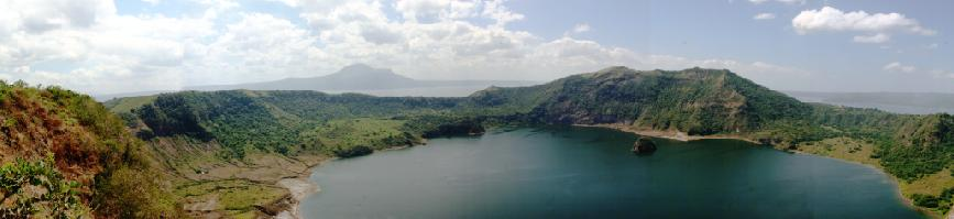 Taal Crater (Panoramic)
