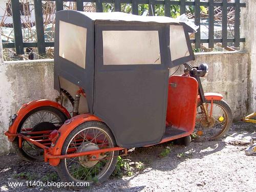 Triciclo para deficientes ?