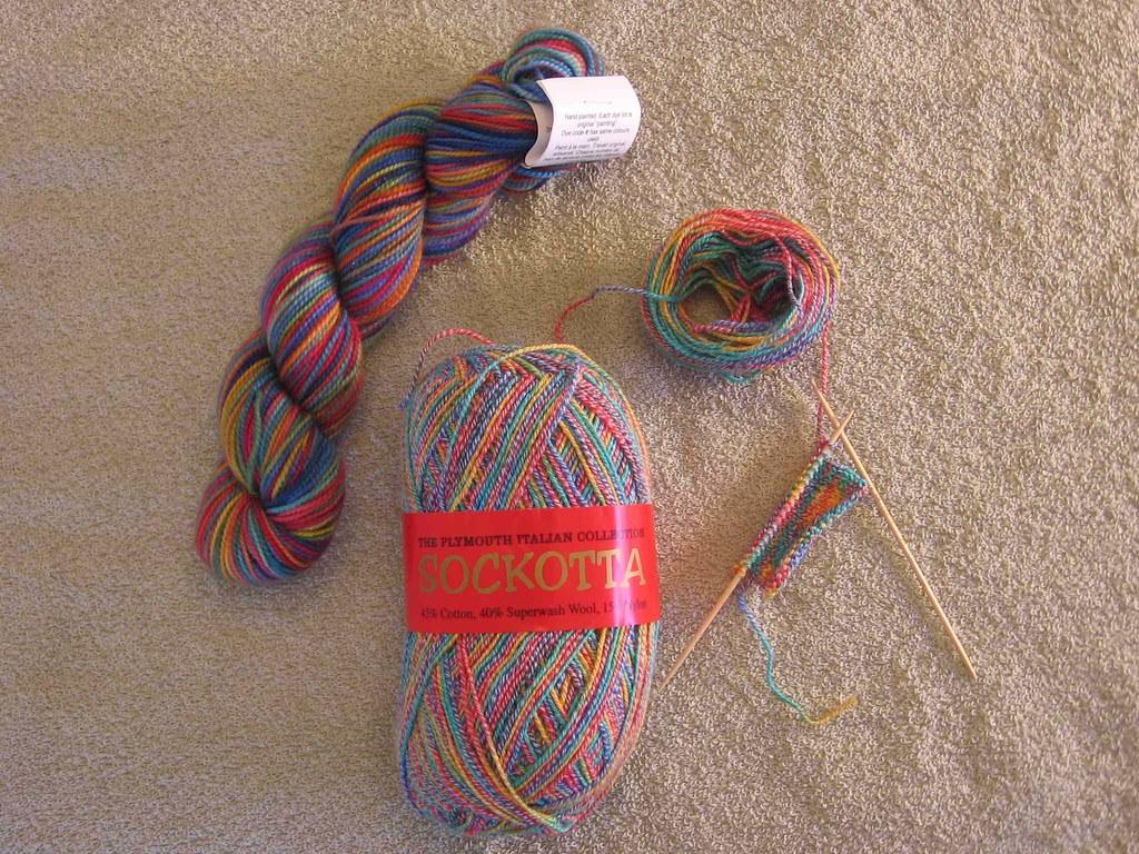 Sockapaloooza yarn