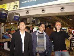 Bersama Ariff & Aleq kat Dublin Airport