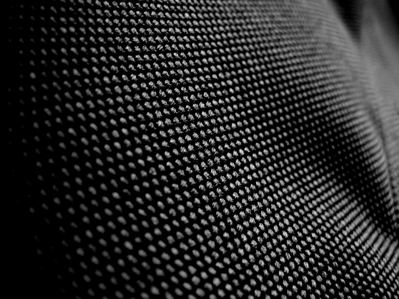 Fabric in B&W Times Three