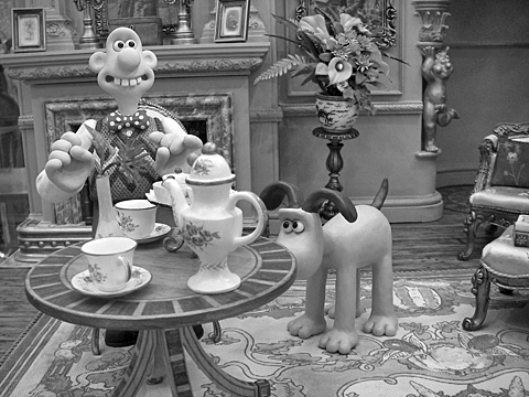BW-Wallace & Gromit Pentax OptioWP