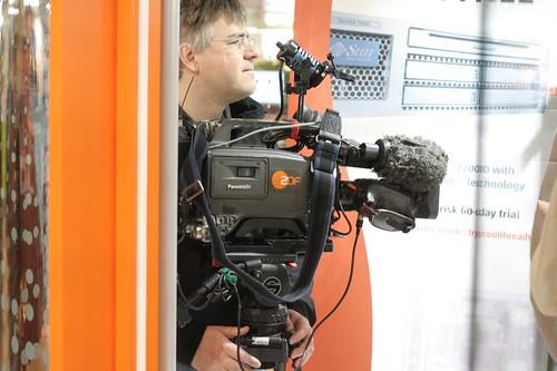 CeBIT: ZDF am Sun-Stand