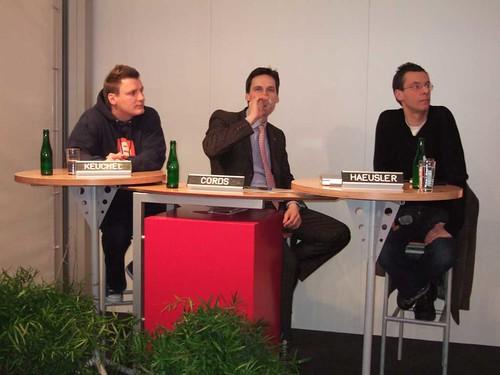 Podiumsdiskussion: Keuchel, Cords, Haeusler