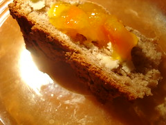 Mineola Marmelade with butter on soda bread