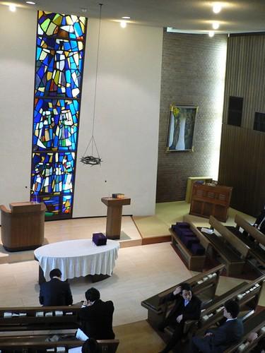 同志社大学神学部礼拝堂