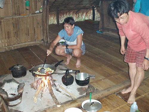 Cooking dinner with KoaChiang