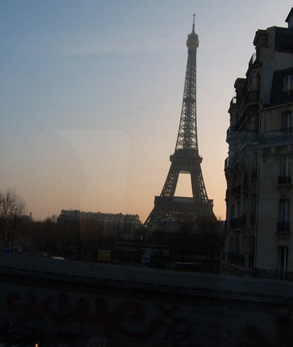 Eiffel Tower from Metro 1