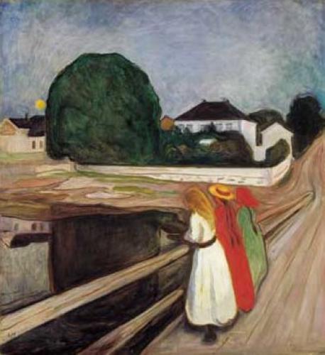 Chicas en el muelle - Munch