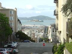 Alcatraz from Taylor Street