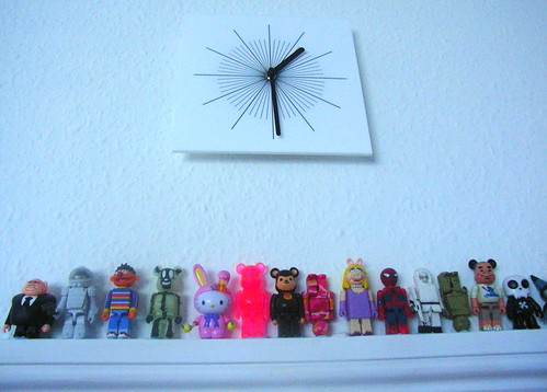 Clock and Toys