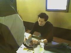 Jorge Cham signing books!