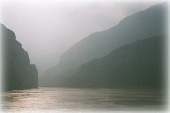 Yangtse gorges three gorges dam