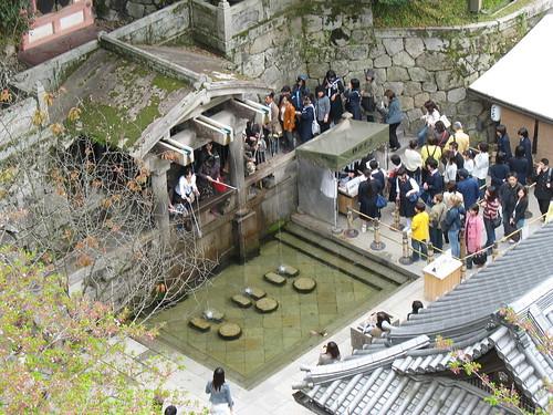 Kyoto - Hram u brdu - pijenje vode