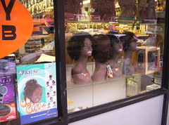 Wigs on Flatbush Avenue