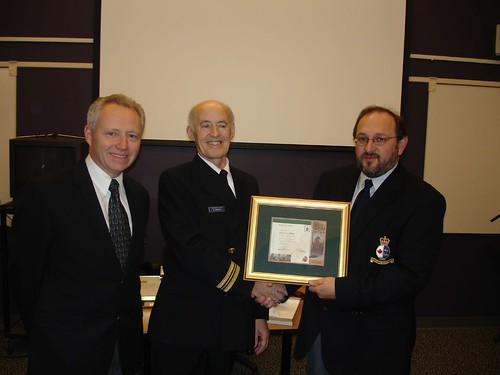 35 Year Retirement Award - Canadian Coast Guard