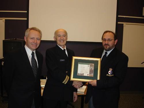 35 Year Retirement Award - Canadian Coast Guard