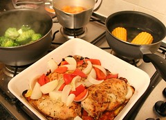 Home-Marinated Chicken Meal