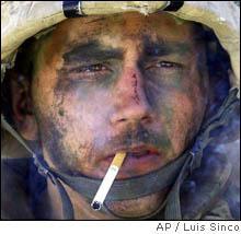 soldier-smoking