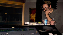 CJ in studio