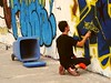 Sprayer @ Mauerpark, Graff III