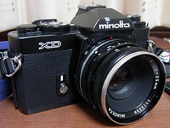 Minolta XD W.ROKKOR-QE35mm/f4