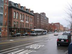 South End Boston, Washington Street, Silver Line Bus Rapid Transit
