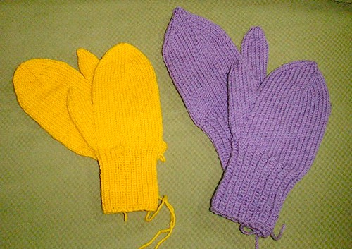 Christmas mittens again