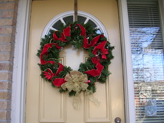 The wreath this year