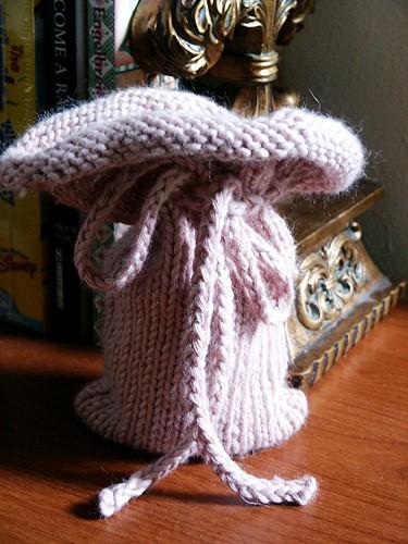 Knit Gift Bag