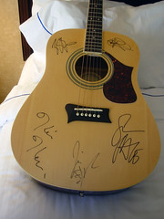29 the BNL autographed guitar