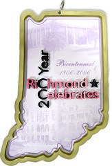 Richmond Celebrates Bicentennial Ornament