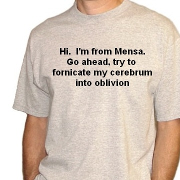 new mensa shirt