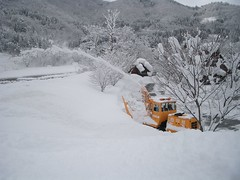 snow plow and gassho