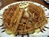 ole waffle wid ice cream
