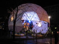Dome in Edinburgh's Winter Wonderland